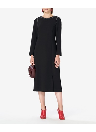 Aker Elbise Siyah